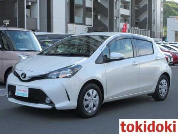 Toyota Vitz, 2016 год, 580 000 руб.