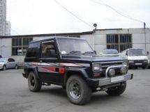 Daihatsu Rugger рестайлинг 1987, джип/suv 3 дв., 1 поколение