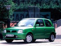 Nissan Micra 1992, хэтчбек 3 дв., 2 поколение, K11