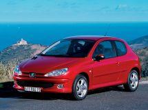 Peugeot 206 рестайлинг, 1 поколение, 03.2003 - 09.2009, Хэтчбек 3 дв.