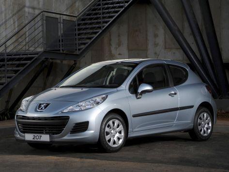 Peugeot 207  07.2009 - 10.2011