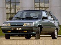 Renault 11 рестайлинг 1986, хэтчбек 5 дв., 1 поколение