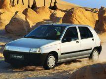 Renault Clio рестайлинг 1994, хэтчбек 5 дв., 1 поколение, B57