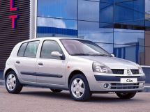 Renault Clio рестайлинг 2001, хэтчбек 5 дв., 2 поколение, BB