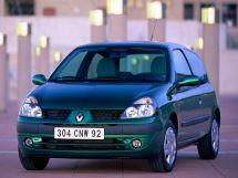 Renault Clio рестайлинг 2001, хэтчбек 3 дв., 2 поколение, CB