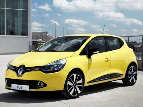 Renault Clio (BH98) 09.2012 - 08.2016