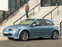 Renault Megane рестайлинг, 2 поколение, 01.2006 - 09.2009, Хэтчбек (3 дв.)