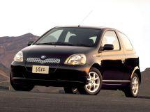 Toyota Vitz 1999, хэтчбек 3 дв., 1 поколение, XP10