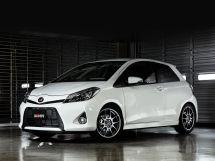 Toyota Vitz 3 поколение, 09.2013 - 03.2014, Хэтчбек 3 дв.