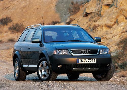 Audi A6 allroad quattro 2000 - 2001