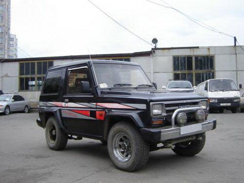 Daihatsu Rugger 1987 - 1990