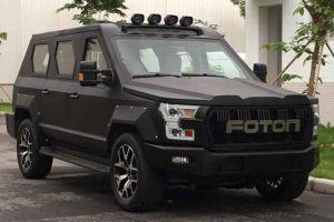 Китайский Foton разработал «лжебронированный автомобиль»