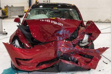 Tesla Model 3 установила рекорд Euro NCAP