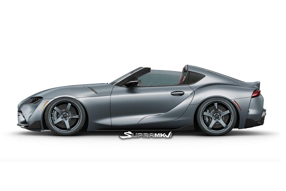 Toyota Supra может стать конкурентом Porsche 911 Targa благодаря новому кузову