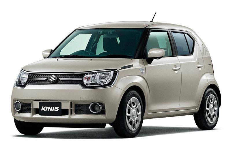 Suzuki Ignis получил новую версию (с автоматическим торможением)