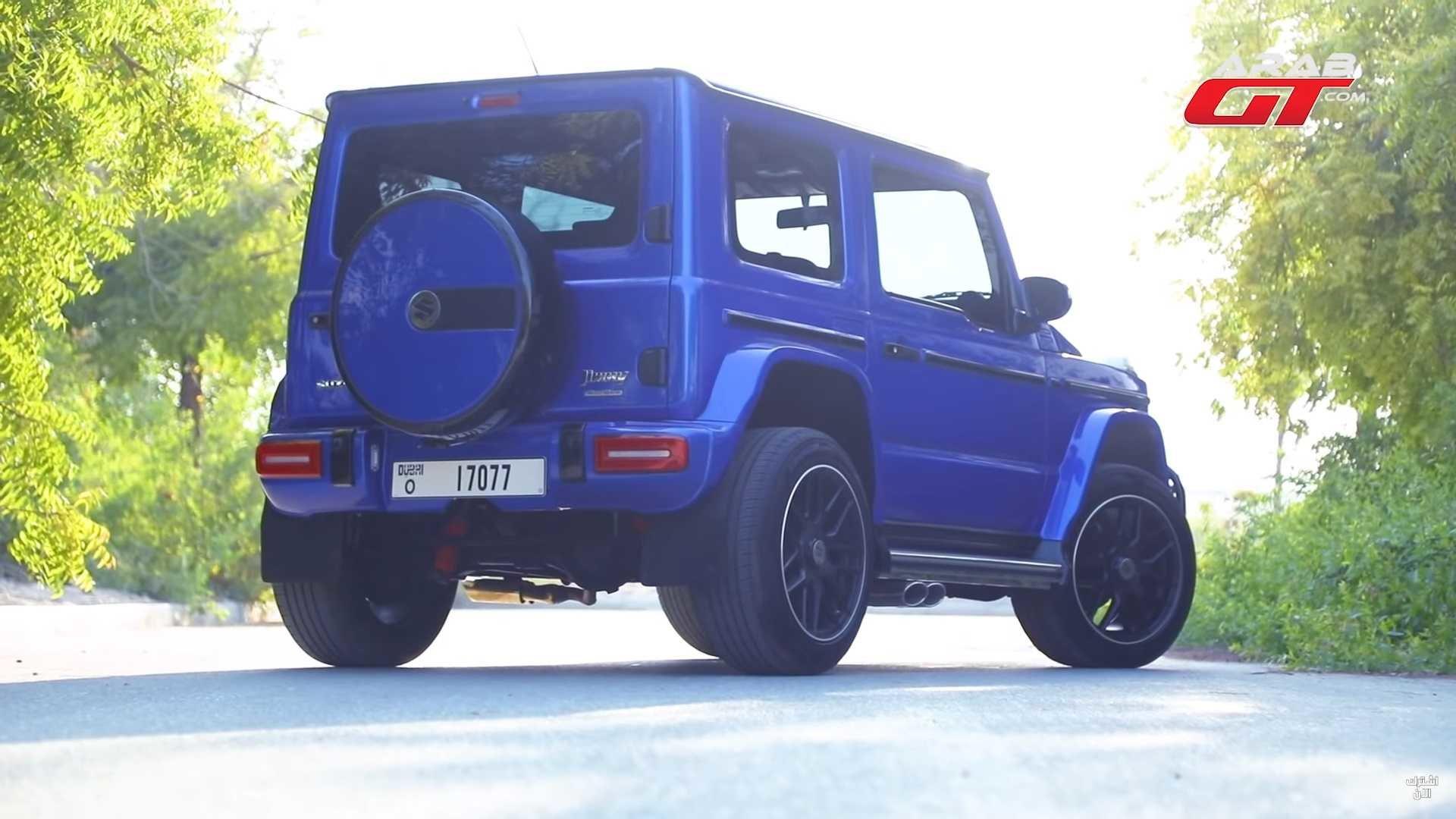 Этот Suzuki Jimny выглядит почти как Mercedes-AMG G63, а стоит — в разы дешевле! (ВИДЕО)