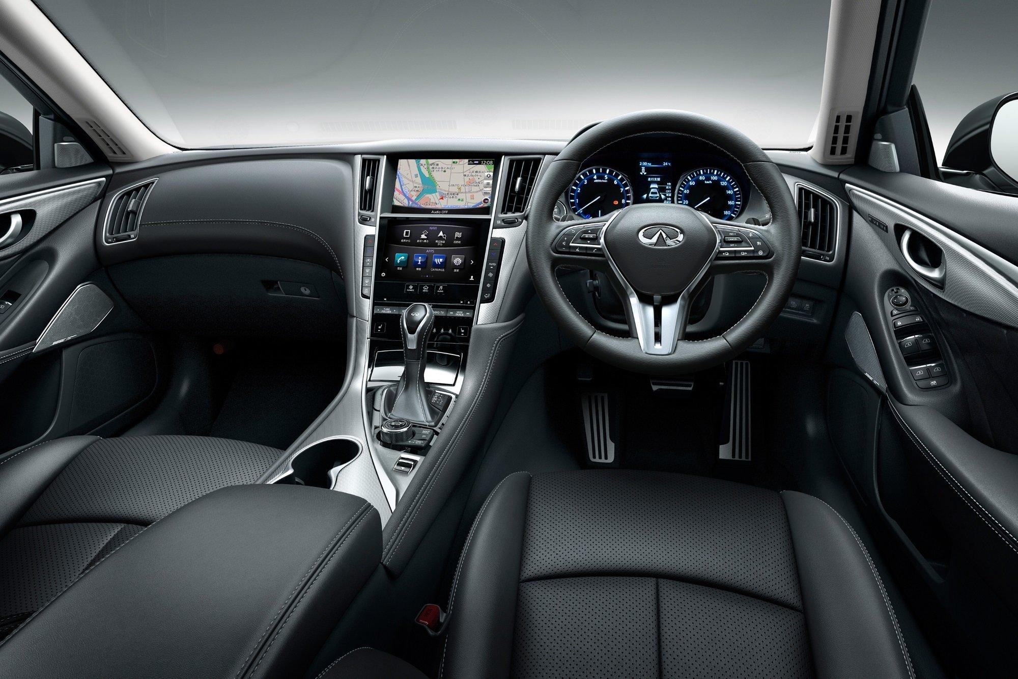 В Японии представлен обновленный Nissan Skyline с системой ProPILOT 2.0