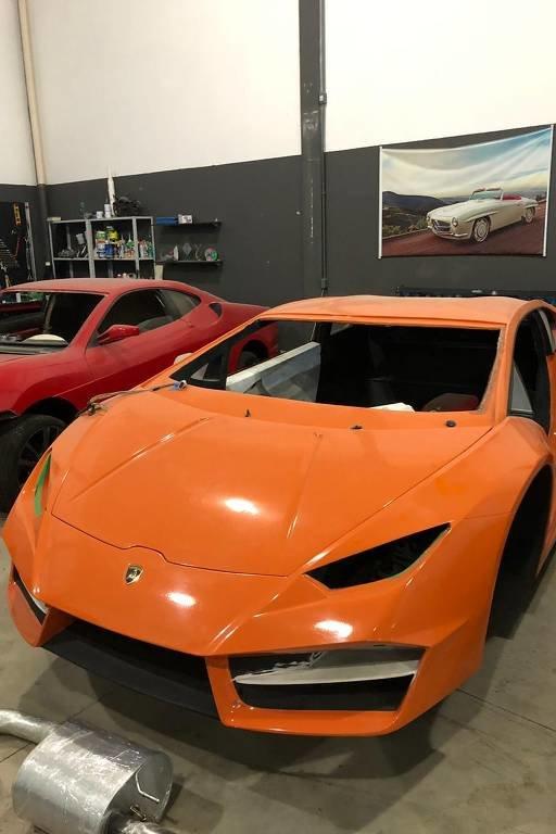 В Бразилии закрыли фабрику по сборке поддельных Ferrari и Lamborghini