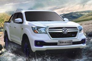 Китайцы начали выпускать электрический Nissan Navara