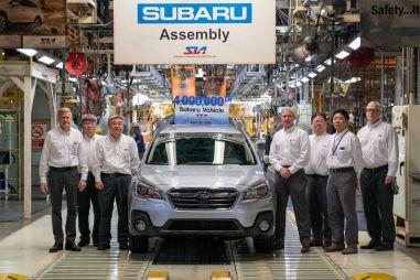 У некоторых моделей Subaru снова «расползается» кузов. Объявлен масштабный отзыв