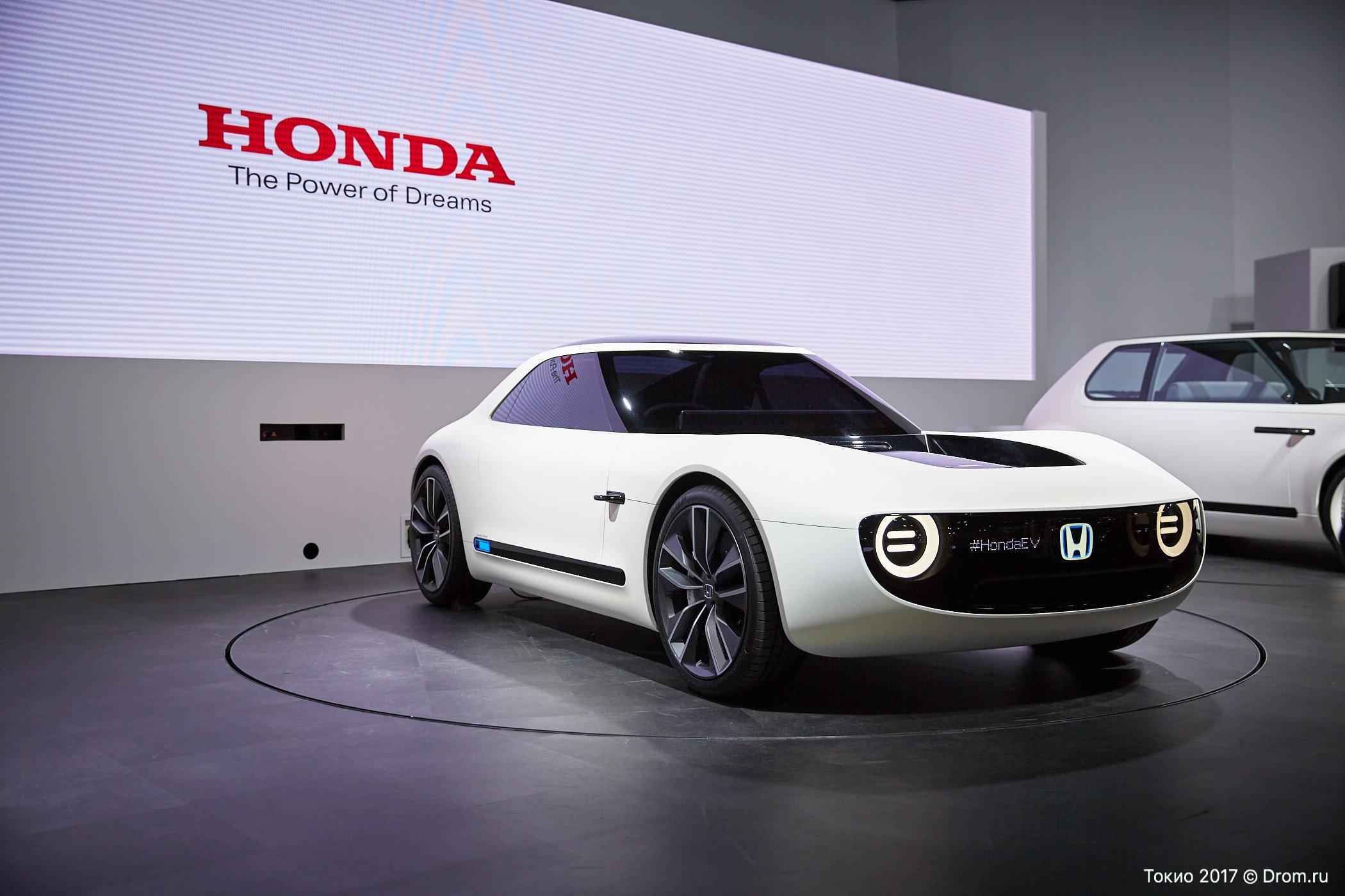 Honda работает над многообещающим заднеприводным электрическим спорткаром
