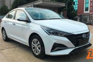 ФОТО рестайлингового Hyundai Solaris оказались в свободном доступе