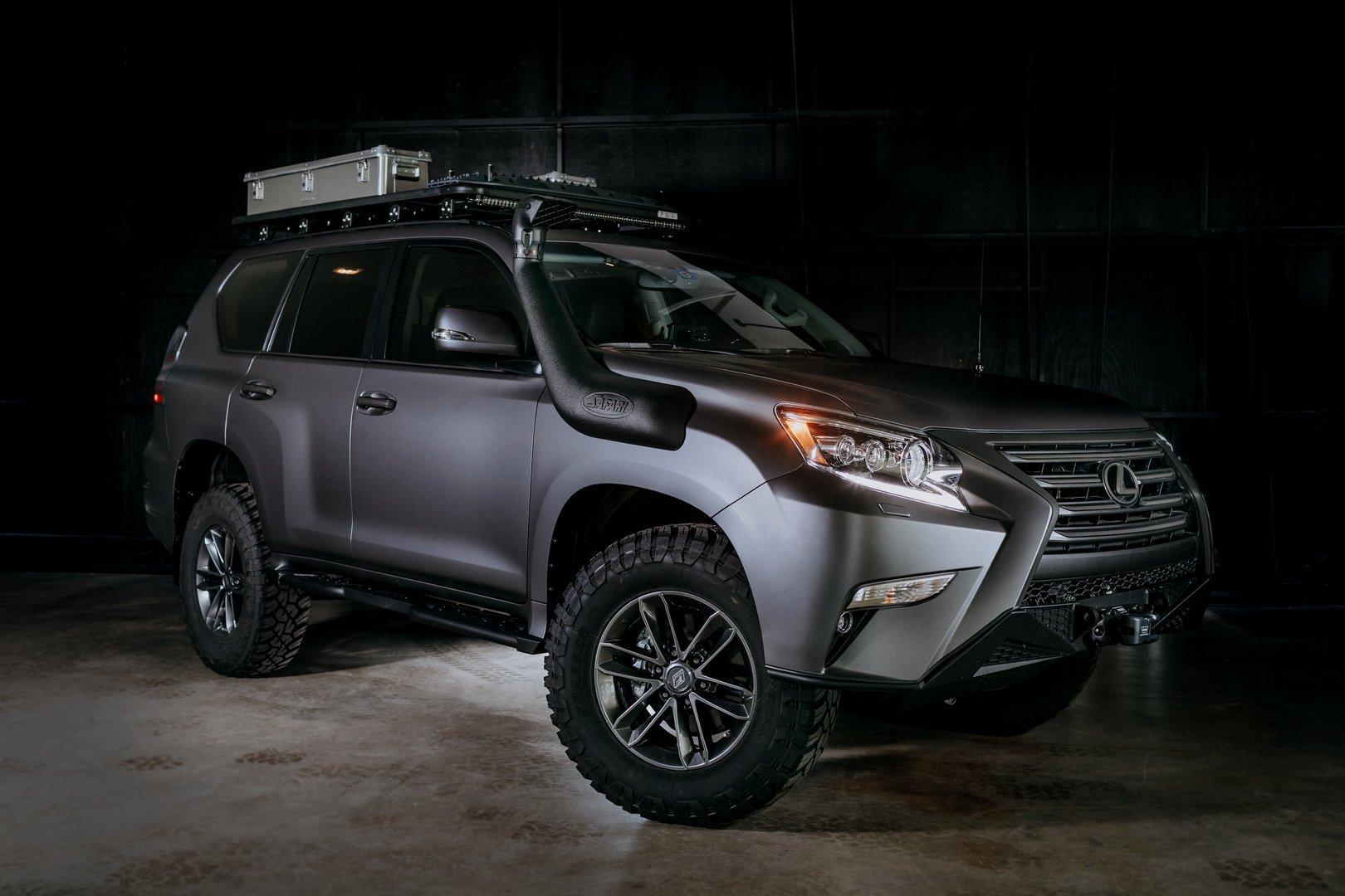 На основе Lexus GX создан концептуальный экспедиционник