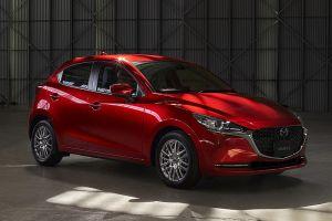 Mazda2 подтянули до нового фирменного стиля марки