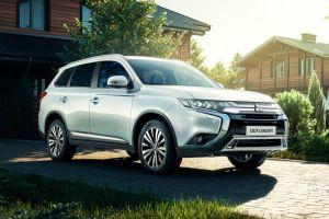 Объявлены российские цены на 7-местную версию Mitsubishi Outlander