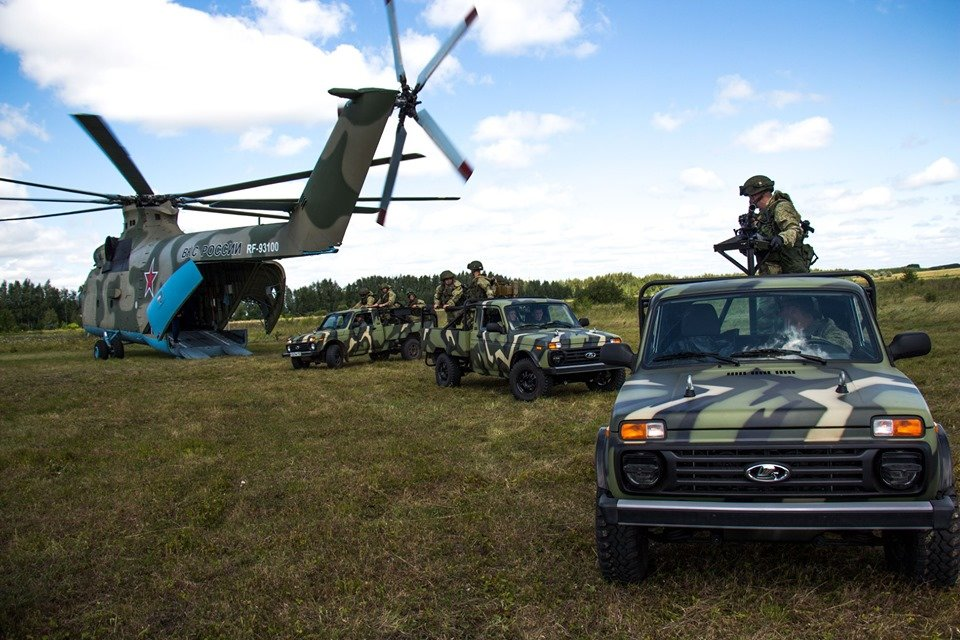 Lada 4x4 начали использовать в Воздушно-десантных войсках (ФОТО)