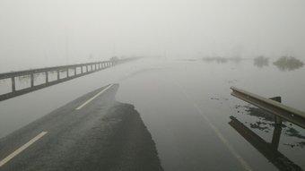 Критическая ситуация сложилась в районе города Тулун.