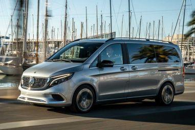 Серийный электровэн Mercedes-Benz с запасом хода 400 км представят в сентябре