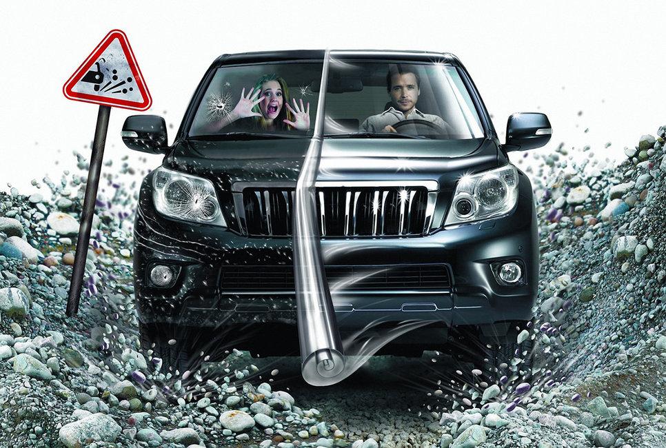 Как защитить кузов автомобиля от сколов и царапин