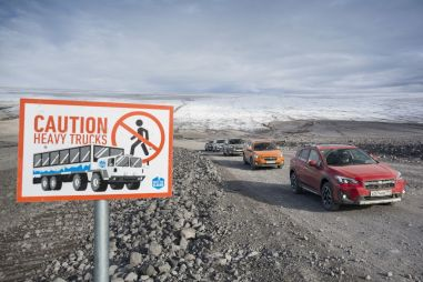 Тестируем Исландию. Как мы ездили по стране суперджипов на кроссоверах Subaru