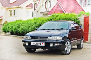 Народное ретро. Toyota Corona ST190. Мышь серая
