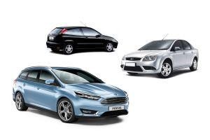 Ford Focus всех трех поколений (1998–2019 гг.). Что с надежностью?