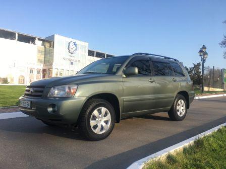 Toyota Highlander 2007 - отзыв владельца