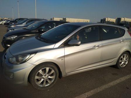 Hyundai Accent 2012 - отзыв владельца