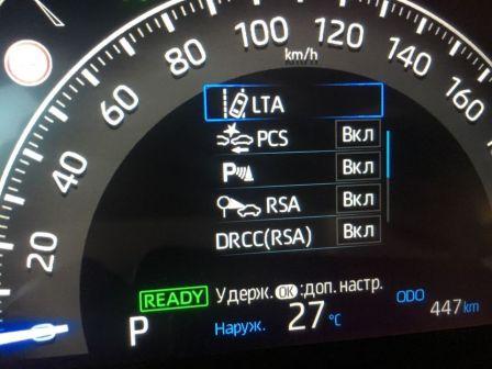 Toyota RAV4 2019 - отзыв владельца