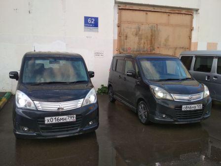 Suzuki Solio 2014 - отзыв владельца
