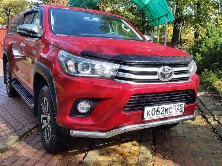 Toyota Hilux Pick Up 2016 - отзыв владельца