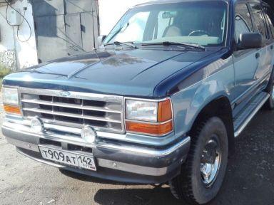 Ford Explorer, 1991