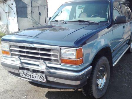 Ford Explorer 1991 - отзыв владельца
