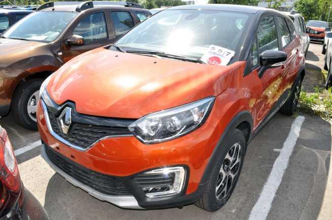 Renault Kaptur, 2018 год, 1 375 460 руб.