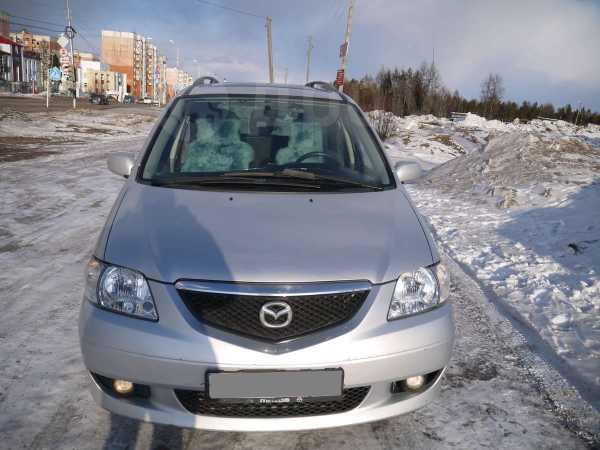 Mazda MPV, 2002 год, 260 000 руб.
