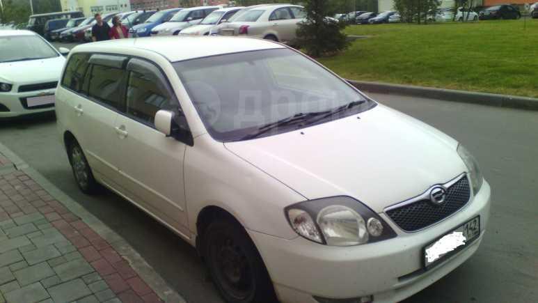Toyota Corolla Fielder, 2002 год, 301 000 руб.