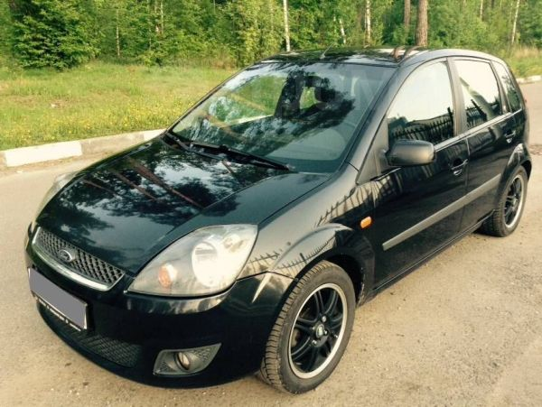 Ford Fiesta, 2006 год, 250 000 руб.