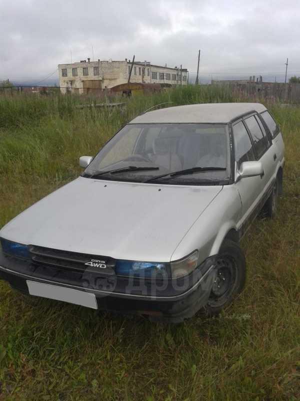 Toyota Sprinter Carib, 1989 год, 75 000 руб.