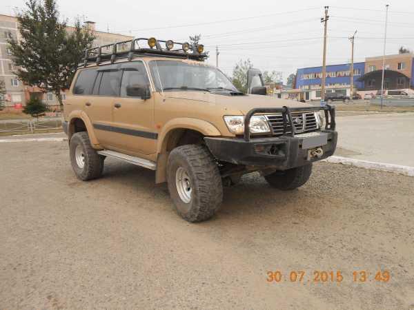 Nissan Patrol, 2002 год, 1 000 000 руб.
