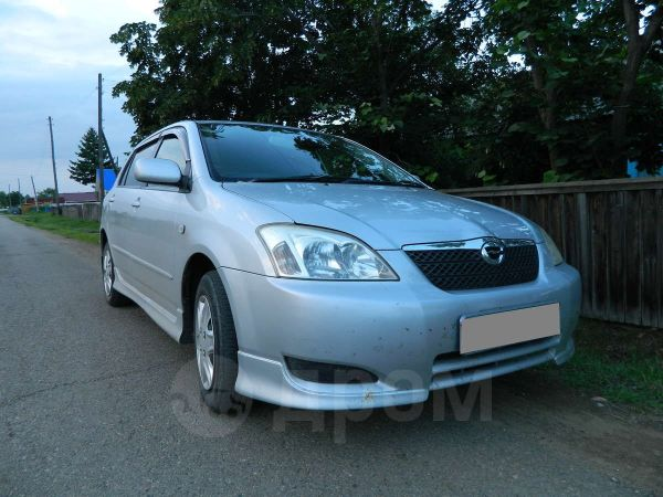Toyota Corolla Runx, 2004 год, 320 000 руб.